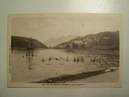 D01D Lac De SAINT CHAMP Et Ses Baigneurs - Belley