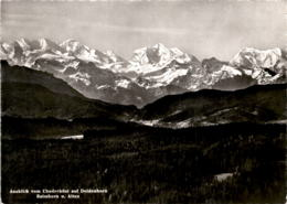 Ausblick Vom Chuderhüsi Auf Doldenhorn, Balmhorn U. Altes (8442) * 15. 10. 1959 - BE Berne