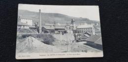 Cp 38 Isère Dauphiné LA MOTTE D'AVEILLANS Le Puits Sainte Ste Marie ( Habitations Mine Usine Batiments Puit Cheminée ) - Motte-d'Aveillans