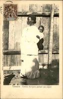 MADAGASCAR - Carte Postale - Tamatave - Femme Borizano Portant Son Enfant - L 66786 - Madagascar