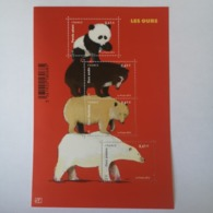 FRANCE Bloc Feuillet Carnet LES OURS 2014 ! NEUF ! Collection Timbre Poste - Ungebraucht