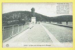* Gileppe (Liège - Luik - La Wallonie) * (G. Hermans, Nr 1273) Le Lion Et Le Barrage De La Gileppe, Stuwdam, Animée - Gileppe (Barrage)
