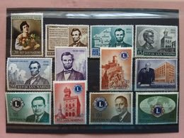 SAN MARINO 1959/60 - Nn. 550 + 497/500 + A129 + 530/34 + A136 - Nuovi ** + Spese Postali - Unused Stamps