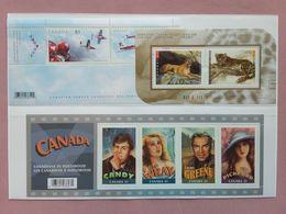 CANADA - 3 BF Anno 2005 - Nuovi ** + Spese Postali - Blocks & Sheetlets