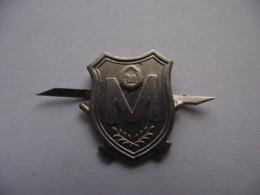 Romania - Army - Weapon Sign - Badge Abzeichen - Weapon Sign Militia Police Polizei 1979 - 1989 - Militari