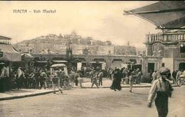 MALTE - Carte Postale - Fish Market - Marché Aux Poissons - L 66807 - Malta