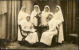 MILITARIA - Carte Postale Photo - Infirmières  - L 66810 - Personnages