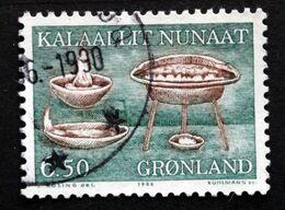 Greenland 1986  Cultural Artefacts I MiNr.166  ( Lot E 705) - Usati