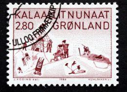 Greenland 1986 Kunst (VII)  MiNr.167   ( Lot Ks) - Usati