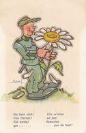 SUISSE  --  Militaire  Humoristique  --  Illustrateur NAEF - Suisse