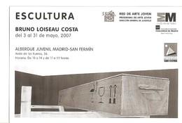 Postal 020384 : Escultura Bruno Loiseau Costa - Cartoline