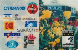 ESTADOS UNIDOS. Sponsor Logos: Navy Fleet Week San Fran. 1995: Coke, Kodak. HTT-Pr82. (172). - Vereinigte Staaten