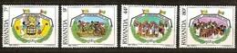 Rwanda Ruanda 1985 OBCn° 1249-1252 *** MNH  Cote 3,75 Euro Jeunesse Jeugd - Rwanda