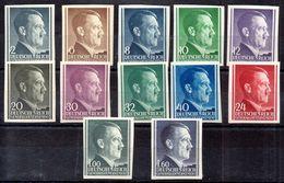 Gobierno General (Generalgouvernement) Serie Nº Michel 71U/75U + 77U/81U +86AU +88U ** - Unused Stamps