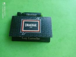 LAROCHE Guy - DRAKKAR - Echantillon Drakkar + 40 Allumettes (collector) - Parfums - Stalen