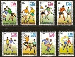 Rwanda Ruanda 1974 OCBn° 578-585 *** MNH Cote 4,50 € Sport Coup Du Monde Soccer Football München - Rwanda