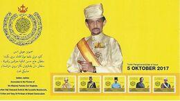BRUNEI, 2017, Booklet 28, Golden Jubilee Association - Brunei (1984-...)
