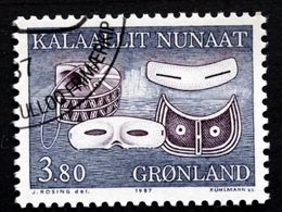 Greenland 1987  Inuit Artefacts  Masks  MiNr.175   ( Lot E 714) - Usati