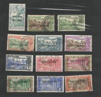 ININI : Série N°2 Oblitérée Complete ( 12 Timbres De  YT N°36 à 47 ) - Used Stamps