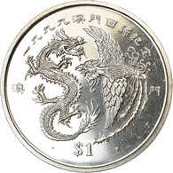 Monnaie, Liberia, Dollar, 1999, Dragons, SPL, Cupro-nickel - Liberia