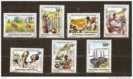 Rwanda Ruanda 1981 OBCn° 1087-93 *** MNH  Cote 5,50 Euro - Rwanda
