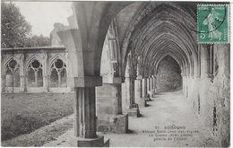 02    Soissons  Ancienne Abbaye De Saint Jean Des Vignes  Cloitre Galerie De L'ouest - Soissons