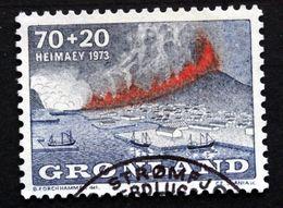 Greenland 1973  Heimaey Minr.86 The Volcano   ( Lot E 730  ) - Groenlandia