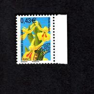 1061884414 SCOTT 3272 POSTFRIS (XX) MINT NEVER HINGED EINWANDFREI  - FLOWERS PRECANCELED ORCHIDS - France
