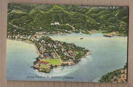 CPA JAMAÏQUE - JAMAICA - PORT ANTONIO - Aerial View Of Dt. Antonio - Très Jolie Vue Aérienne Du Village Avec Détails - Jamaïque