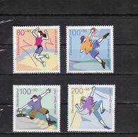 Germany / BRD / Allemange 1997  Sporthilfe 97 Mi 1898-1901 MNH** - Nuovi