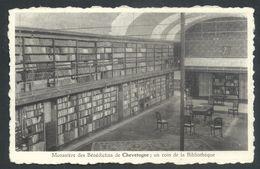+++ CPA - CHEVETOGNE - Monastère Des Bénédictins - Un Coin De La Bibliothèque  // - Ciney