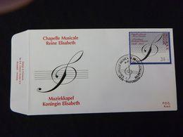 "BELG.1989 2344 FDC (Waterloo) : "" MUZIEKKAPEL KONINGIN ELIZABETH/CHAPELLE MUSICALE REINE ELISABETH "" - FDC"