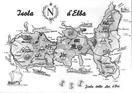 Isola D'Elba. Isola Delle Api D'oro. Non Viaggiata - Italy