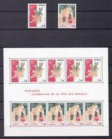 Europa-CEPT - Monaco - 1981 - Michel Nr. 1473/74 + Block 17 - Postfrisch - Europa-CEPT