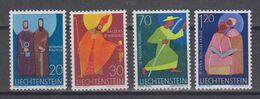 Liechtenstein 1967 Definitives/Kirchenpatrone  20, 30, 70Rp & 1.20 Fr ** Mnh (49417) - Ungebraucht
