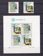 Europa-CEPT - Portugal - 1981 - Michel Nr. 1531/32 + Block 32 - Postfrisch - Europa-CEPT