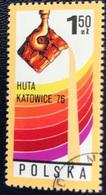 Polska - Poland - P2/8 -(°)used - 1976 - Michel Nr. 2471 - Huta-Katowice Ijzergieterij - Factories & Industries