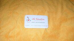 CARTE PUBLICITAIRE DATE ?../ LA GAULOISE EN BEARN BAR RESTAURANT PARIS 15e.. - Advertising