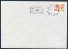 Switzerland Schweiz Suisse 1980 Brief Cover Enveloppe - Transport Publics .. Une Solution Raisonnable / Verkehrsmittel - Tramways
