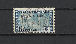 ININI N°21 Avec Belle Oblitération St Elie - Used Stamps