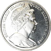 Monnaie, BRITISH VIRGIN ISLANDS, Dollar, 2005, Franklin Mint, Horatio Nelson - Iles Vièrges Britanniques
