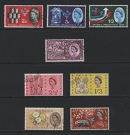 Great Britain(02) 1962-63. Phosphor Commemoratives - Used Stamps