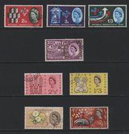 Great Britain(02) 1962-63. Phosphor Used Commemoratives - Gebraucht