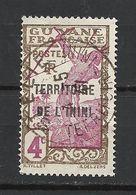ININI N°3 Avec Belle Oblitération St Elie - Used Stamps