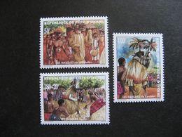 Cote D'Ivoire:  TB Série N° 1037 Au N° 1039, Neufs XX. - Côte D'Ivoire (1960-...)