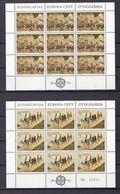 Europa-CEPT - Jugoslawien - 1981 - Michel Nr. 1883/84 - 2 Klb. - Postfrisch - Europa-CEPT