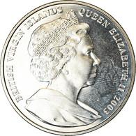"""Monnaie, BRITISH VIRGIN ISLANDS, Dollar, 2003, Franklin Mint, JFK - """"Ich Bin Ein - Iles Vièrges Britanniques"""