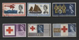 Great Britain(03) 1963. Phosphor Commemoratives - Used Stamps