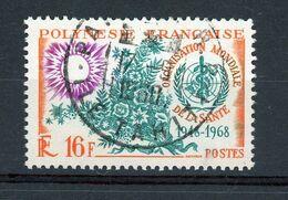 POLYNESIE - ORGANISATION MONDIALE DE LA SANTÉ -  N° Yt 61 Obli. - Polinesia Francese