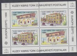 Europa 1990 : Etablissements Postaux : Turquie Administration Chypre BF N° 8 XX,  Le Bloc Sans Charnière, TB - Europa-CEPT
